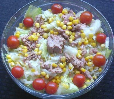 ton balikli diyet salata Diyet Ton Balıklı Salata Tarifi ~ Hazırlanışı